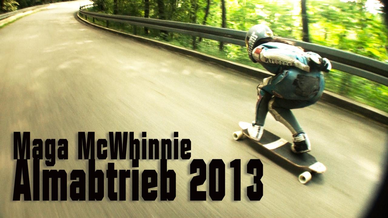 Maga McWhinnie at Almabtrieb 2013