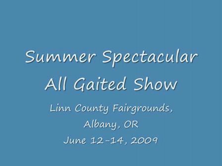 All Gaited Show 2009