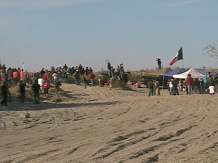 Baja 1000 Borrego Check Point #2