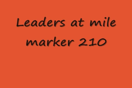 Running order at Mile marker 210
