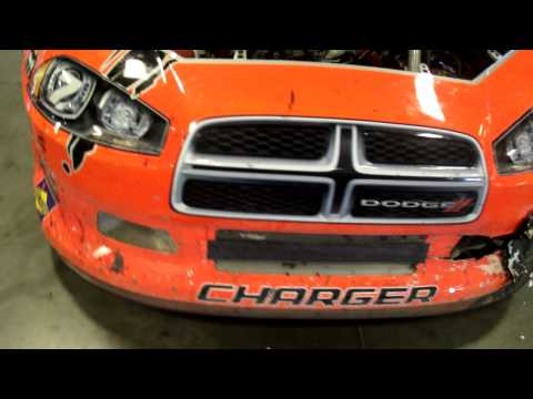 2011 Phoenix Robby Gordon Damage SPEED Energy
