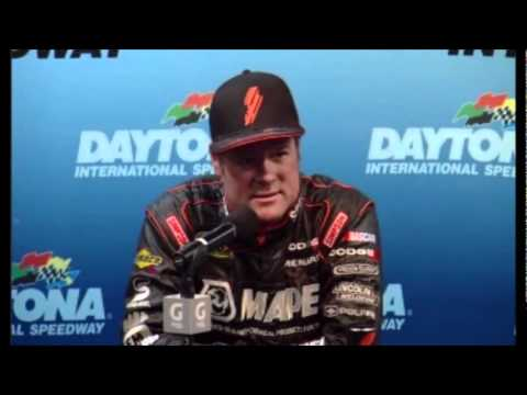 Robby Gordon Press Conference