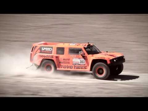 Robby Gordon - Dakar 2012 Action