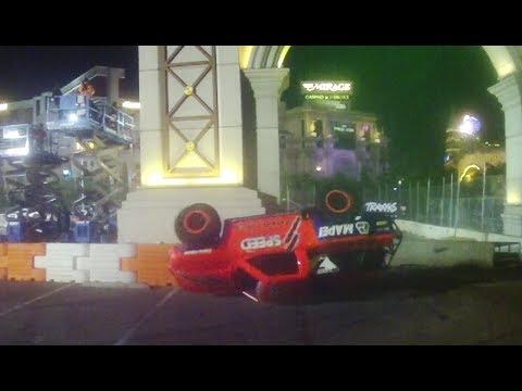 Replay XD: Robby Gordon Flips his Lid in SST Vegas