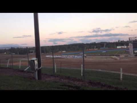 Crandon 2013 Stadium Super Truck Crash