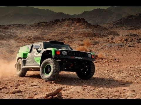 Yazeed Racing to Dakar 2014