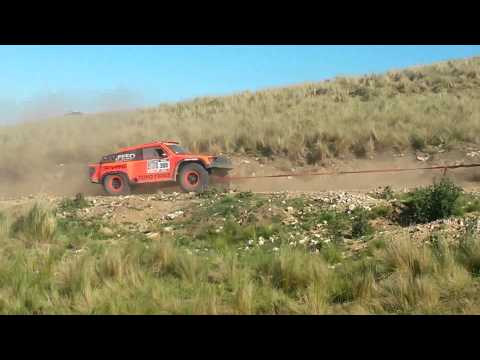Robby Gordon towed by 390 (1º Stage)