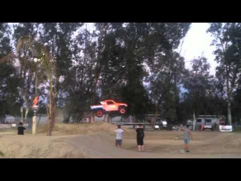 Stadium Super Truck jumps bmx track