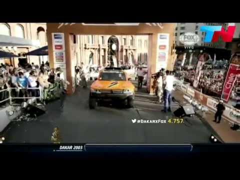 Robby Gordon ramp jump Dakar 2015