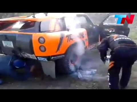 2015 Dakar Stage 2 Brake Fire