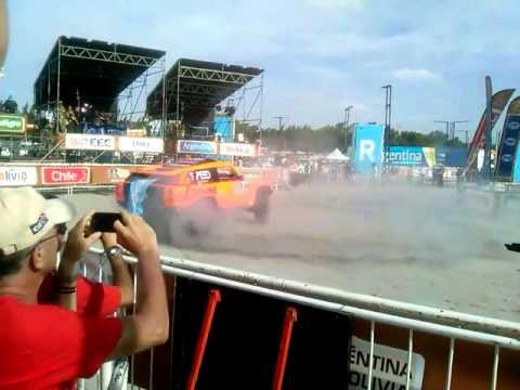 Dakar 2015 Robby Gordon cierre Tecnopolis