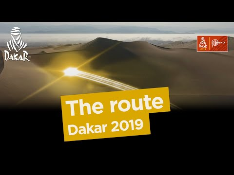 The route - Dakar 2019