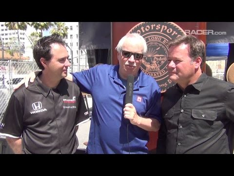 RACER: Robin Miller with Bryan Herta and Robby Gordon