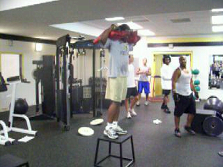 UNCP Strength - Sandbag Pistol Squats