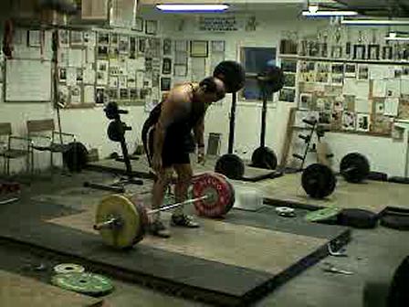 Gary+Valentine+145+kg+Hang+Cl
