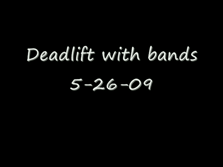 deadlift with bands