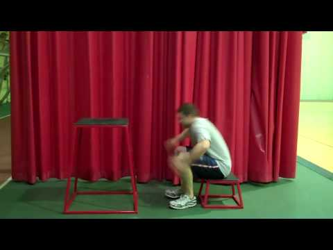 Denison University Strength & Conditioning Box Jump Series