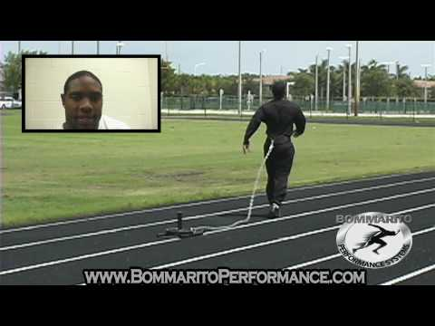 Maurice Jones-Drew Sprint Training