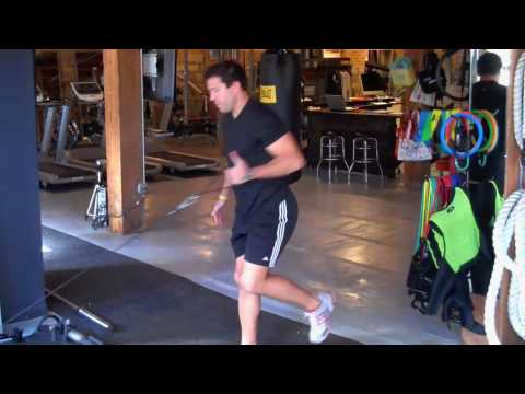SL Squat, Reach, & Row