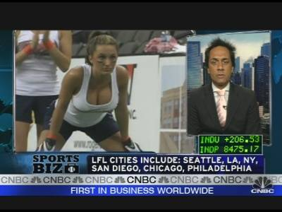 Lingerie Football Tryouts