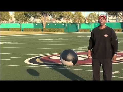 49ers Strength and Conditioning: Overhead Throw