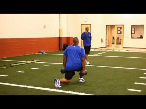 How LaMarr Woodley Builds Leg Strength