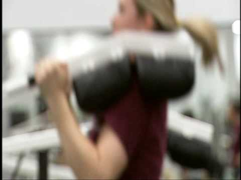 Texas A&M Volleyball Workout Video