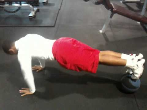 Advance Push - Ups