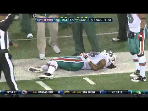 Jets Strength Coach Trips Dolphins Player