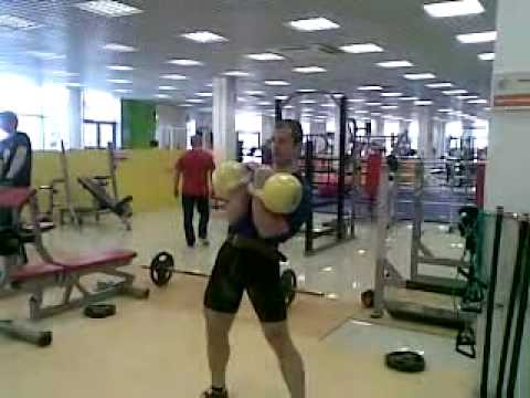 Kettlebell Sport Long Cycle 10'(6+6+6+6+6+5+5+5+5+7)2x40kg.24.03.2010