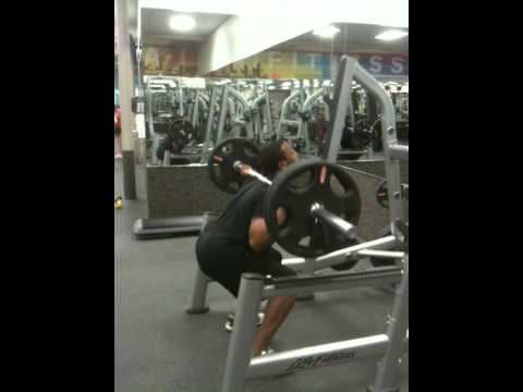 Back Barbell Squats 225lbs