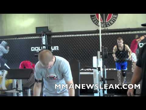 MMA Strength and Conditioning with Evan Dunham and Norm Turner: Curl and Press