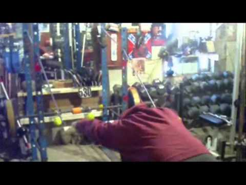 Dynamic Upper body warmup using Pole.wmv