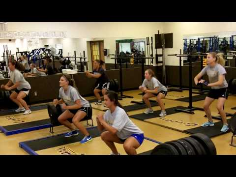 COC Women's Soccer Body Weight Complex Circuit