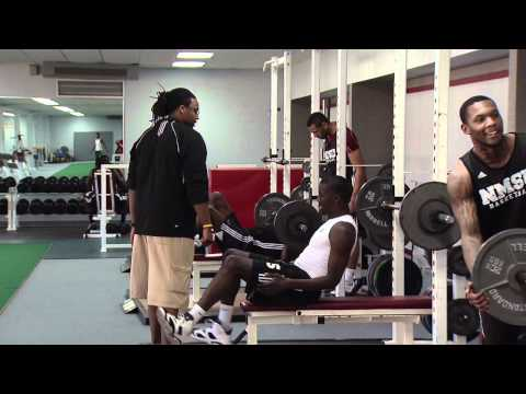 New Mexico State Strength and Conditioning Coach Trei Steward