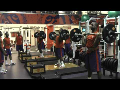 Clemson Football Summer Workouts Day One