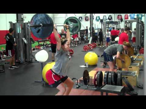 US Women's Hockey Works Out