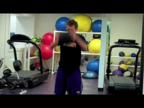LSU Swimming and Diving Circuit Training