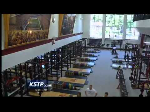 Behind the scenes at Gophers football team's new weight room