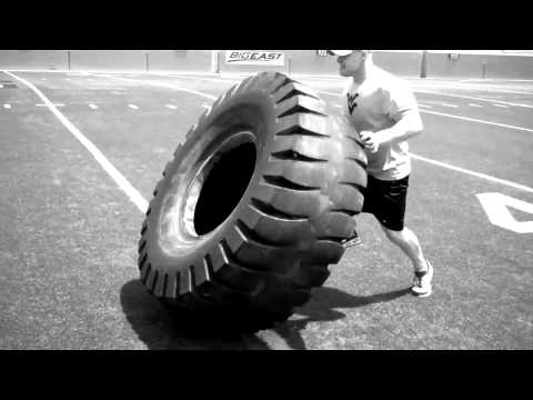 Push The Ground B-Day Challenge 500lb Tire Flip