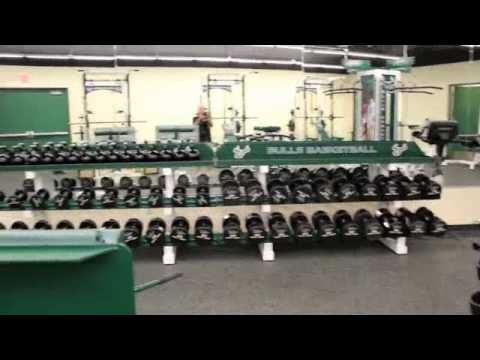 Williams Strength Weight Room at the University of South Florida