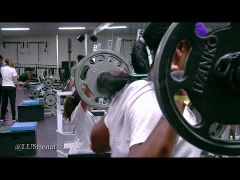 Weight Room Wednesday: Lipscomb Track & Field