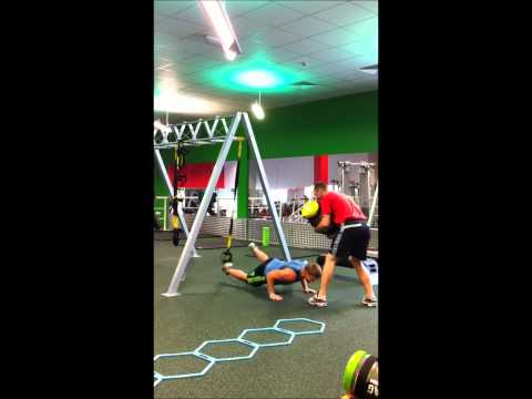 Batley Bulldogs Scrum Half, Ben Black on TRX