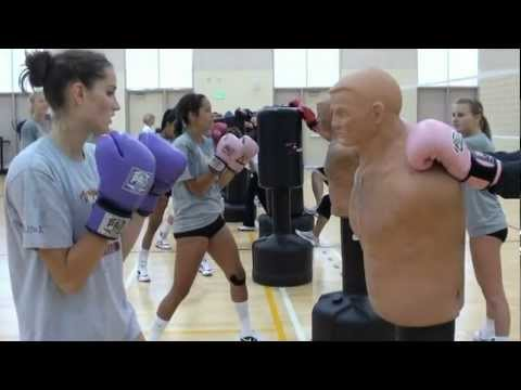 USC Women's Volleyball Boxing Workout