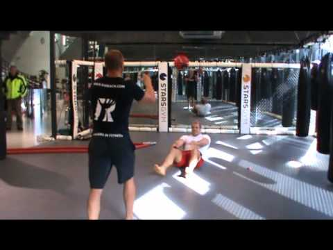 James Haskell Strength Session Post Rugby World Cup 2011