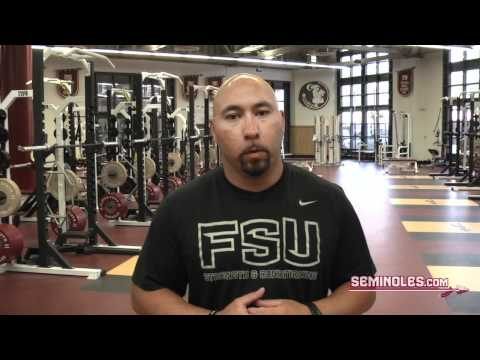 FSU Weight Room Tour with Vic Viloria