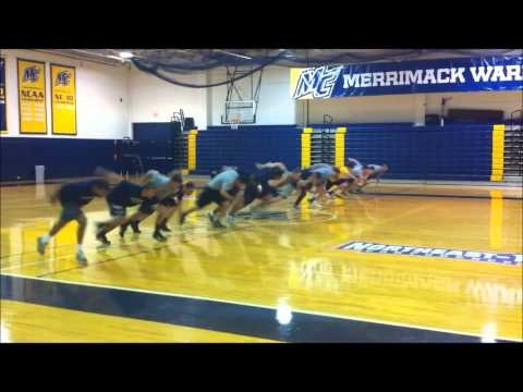 Merrimack Baseball Fall 2011 Strength Training
