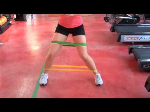 Internal and External Hip Rotation with Mini Bands