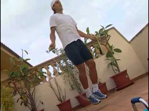 Rafael Nadal Training and Stretching Routine
