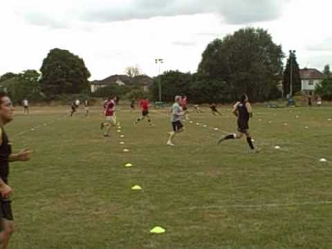 150m Shuttle Test  Esher  Rugby 2010